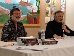 Kevin E. McDonald and Author, Chuck Tatum at a Stockton Public Library booksigning